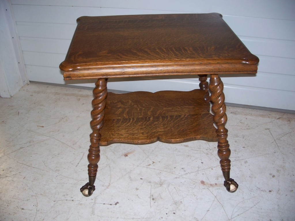 Antique Oak Dropfront Desk moreover Oak Glass Ball And Claw Foot Two Tier Parlor Table additionally Wood Stain Fabric Choices as well Stickley Brothers Footstool W328 together with TraditionalKitchens. on antique quarter sawn oak furniture